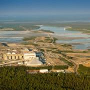 Vue aérienne de la mine Canadian Malartic