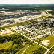 Aerial view of the Canadian Malartic Mine