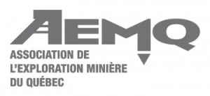 AEMQ (Québec mining exploration association) logo